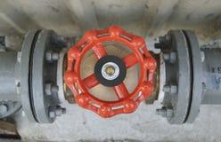 Public water valve Stock Photo