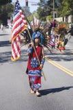 Publicación anual 4ta del desfile de julio en Ojai fotografía de archivo