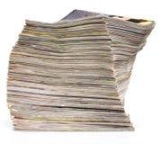 Publicaciones del diario imagen de archivo libre de regalías