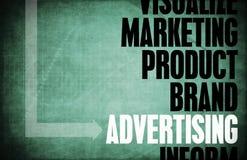 Publicidad stock de ilustración