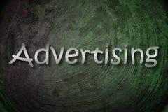 Publicidad de concepto stock de ilustración