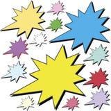 Publicidad de las estrellas Foto de archivo libre de regalías