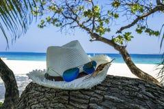 Publicidad de las vacaciones de verano Imágenes de archivo libres de regalías