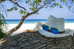 Publicidad de las vacaciones de verano Fotografía de archivo libre de regalías