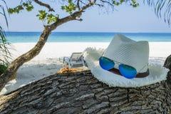 Publicidad de las vacaciones de verano Imagen de archivo libre de regalías