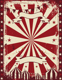 Publicidad del fondo del cartel del circo del vintage Fotos de archivo libres de regalías