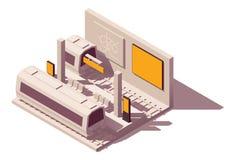 Publicidad del metro del vector ilustración del vector