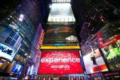 Publicidad del Times Square Fotos de archivo libres de regalías