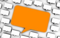 Publicidad online ilustración del vector