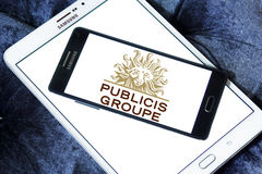 Publicis Groupe company logo Royalty Free Stock Photography