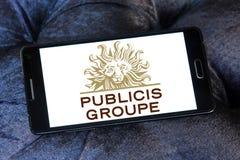 Publicis Groupe firmy logo Zdjęcia Royalty Free