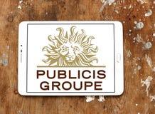 Publicis Groupe firmy logo Zdjęcie Stock