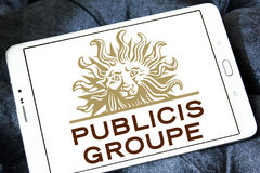 Publicis Groupe firmy logo Obrazy Royalty Free