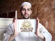 Publicis Groupe firmy logo Obrazy Stock