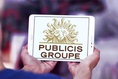 Publicis Groupe firmy logo Zdjęcia Stock