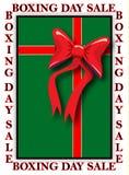 Publicité de lendemain de Noël Image stock