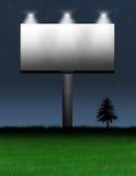 Publicité de panneau-réclame Photographie stock libre de droits