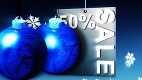 Publicité de vente d'achats de Noël illustration libre de droits