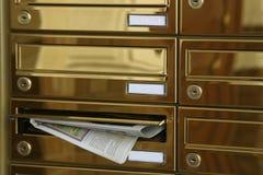 Publicité par courrier individuel photos stock