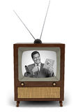 publicité télévisée des années 50 Photo stock