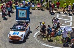 Publicity Caravan Action Stock Photo