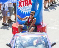 Publicity Caravan Detail - Tour de France 2015 Stock Images