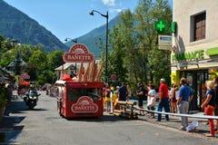 Publicity Caravan, Tour de France 2017 Royalty Free Stock Photography