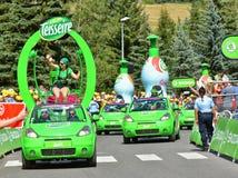 Publicity Caravan, Tour de France 2017 Stock Photo
