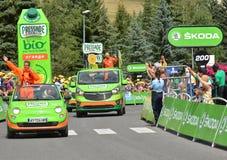 Publicity Caravan, Tour de France 2017 Stock Photography