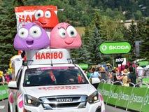 Publicity Caravan, Tour de France 2017 Royalty Free Stock Image