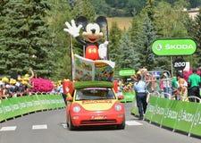 Publicity Caravan, Tour de France 2017 Stock Images