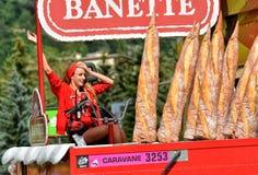 Publicity Caravan, Tour de France 2017 Royalty Free Stock Images