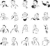 Publick Speakers Stock Image
