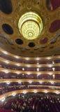 Publiek bij Beethoven-Overleg in Gran Teatre del Liceu Royalty-vrije Stock Foto's