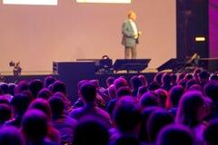 Publiek bij conferentiezaal Royalty-vrije Stock Fotografie