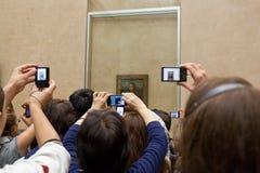 Publiek dichtbij het beeld  Royalty-vrije Stock Fotografie