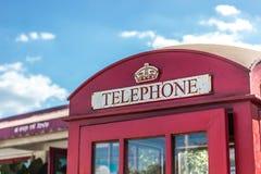 Publieke telefooncel Stock Fotografie