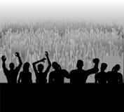 Publikum Lizenzfreie Stockbilder