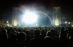 Publikum bei San Miguel Primavera Sound Festival Lizenzfreie Stockfotos
