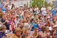 Publikums-Applaus Stockfotografie
