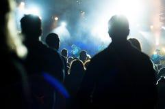 Publikums- und Firkinband Stockbild