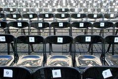 Publikumsstühle Stockfotografie
