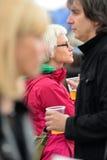 Publikumsuhr ein Konzert an Ton-Festival 2014 Heinekens Primavera Lizenzfreie Stockfotografie