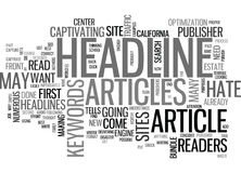 A Publisher S Rant Why I Hate Your Article Headlinesword Cloud. A PUBLISHER S RANT WHY I HATE YOUR ARTICLE HEADLINES TEXT WORD CLOUD CONCEPT Stock Photos