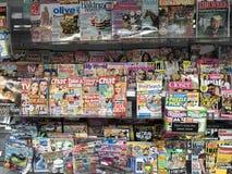 The publishing industry magazines royalty free stock image