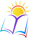 Publishing logo. A vector drawing represents publishing logo design Royalty Free Stock Photos