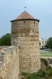 Publius Ovidius Naso torn i den forntida fästningen Akkerman, Ukraina Arkivbilder