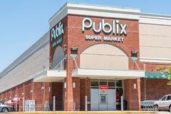 Publix Grocery Store Exterior stock photo