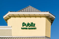 Publix supermarket name and logo, Florida, USA Stock Photos