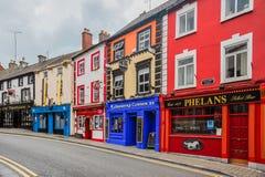 Pubs de Kilkenny Imágenes de archivo libres de regalías
